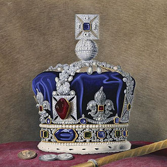 Imperial State Crown - Image: Imperial State Crown of Queen Victoria