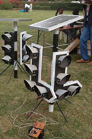 Maker Faire Africa - Image: Innovative traffic light