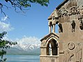 Insel Akdamar Աղթամար, armenische Kirche zum Heiligen Kreuz Սուրբ խաչ (um 920) (25550674417).jpg