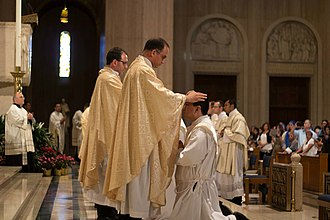Institute of the Incarnate Word - Priestly ordination of members of the Institute of the Incarnate Word at the Basilica of the National Shrine of the Immaculate Conception in Washington, DC.