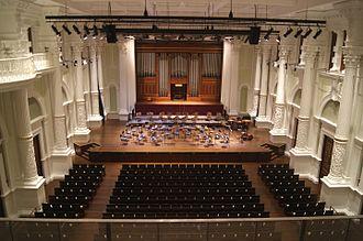 Victoria Theatre and Concert Hall - The refurbished interior of Victoria Concert Hall, 2014