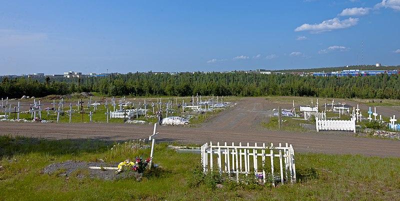 File:Inuvik panorama from cemetery.jpg