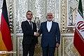 Iran's FM Javad Zarif Meets German FM Heiko Maas 05.jpg