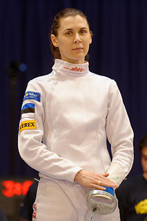 Irina Embrich Estonian fencer