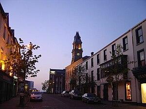 Sligo - Sligo town at dusk