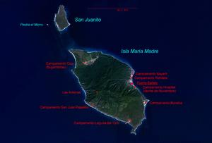 Islas Marías - Image: Isla Maria Madre