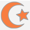 Islamic star and crescent orange.PNG