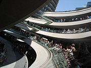 Kanyon Mall in Levent with its award-winning architecture
