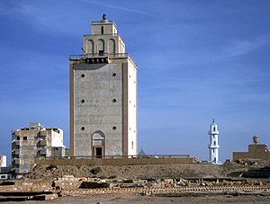 Italian Lighthouse - Benghazi