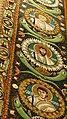 Italie, Ravenne, basilique San Vitale, mosaïque de l'intrados du grand arc montrant des médaillons d'apôtres et de saints (48087030611).jpg
