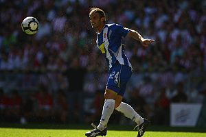 Iván Alonso - Alonso in action for Espanyol