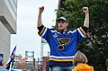 Ivan Barbashev during the 2019 Stanley Cup parade.jpg