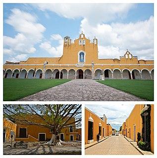 Izamal City in Yucatan, Mexico