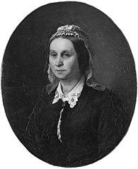 Emilie Mathilde Roed, f. Kruse, kunstnerens hustru