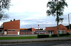 Vocational school - Vocational school in Lappajärvi, Finland.