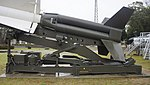 JASDF Nike-J booster & launcher left side view at Nara Base April 6, 2013.jpg