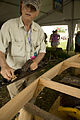 JF100424 DSB Louisiana Folklife Village Tom Colvin Traditional Boat Building.jpg