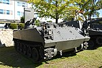 JGSDF Type 75 wind measurement vehicle(No.KU130A-0012A) right front view at Camp Himeji October 21, 2018.jpg