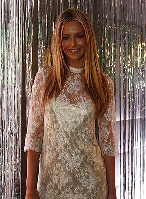 Australian Fashion Week - Jennifer Hawkins, Miss Universe 2004 at Australian Fashion Week, May 2007