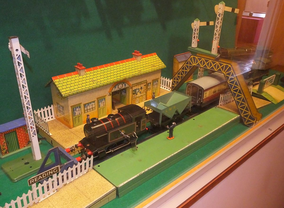Px Jll Childhood Collection Model Trains Station C
