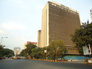 Chowringhee - J L Nehru Road - The main stretch of Chowringhee