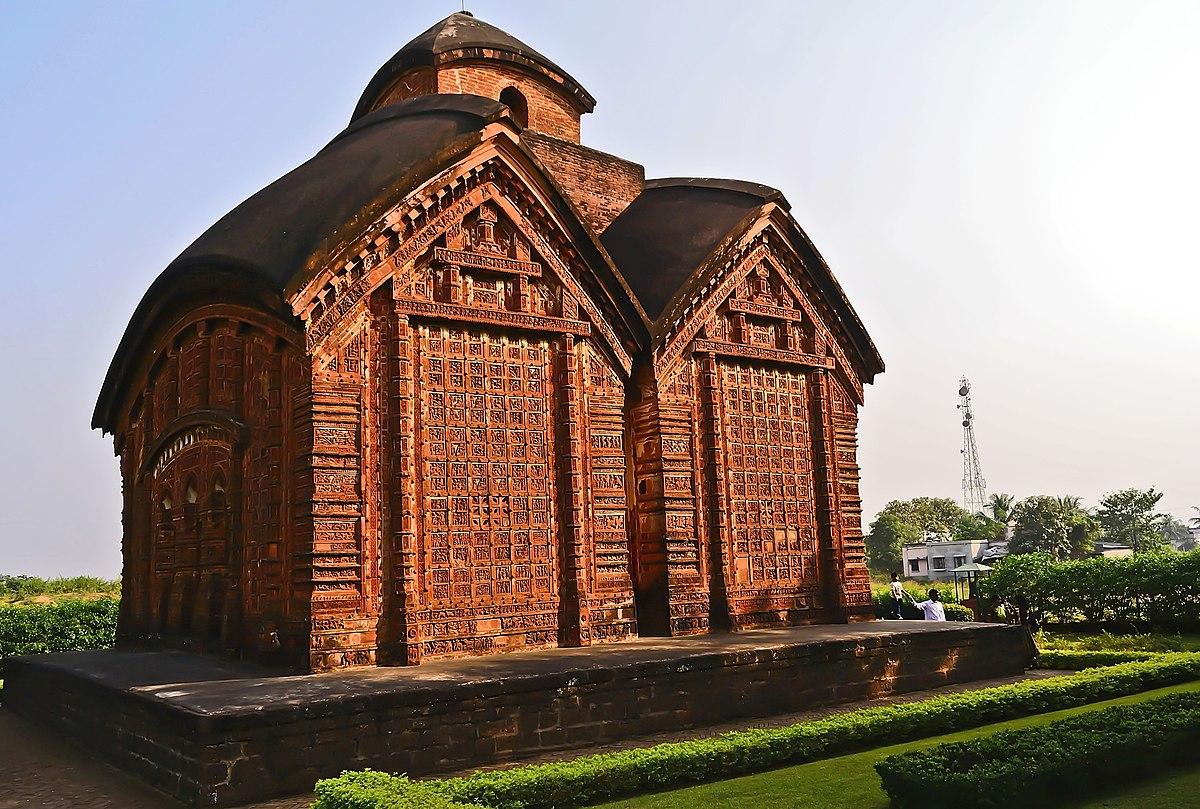 Image result for জোড় বাংলা মন্দির, বিষ্ণুপুর