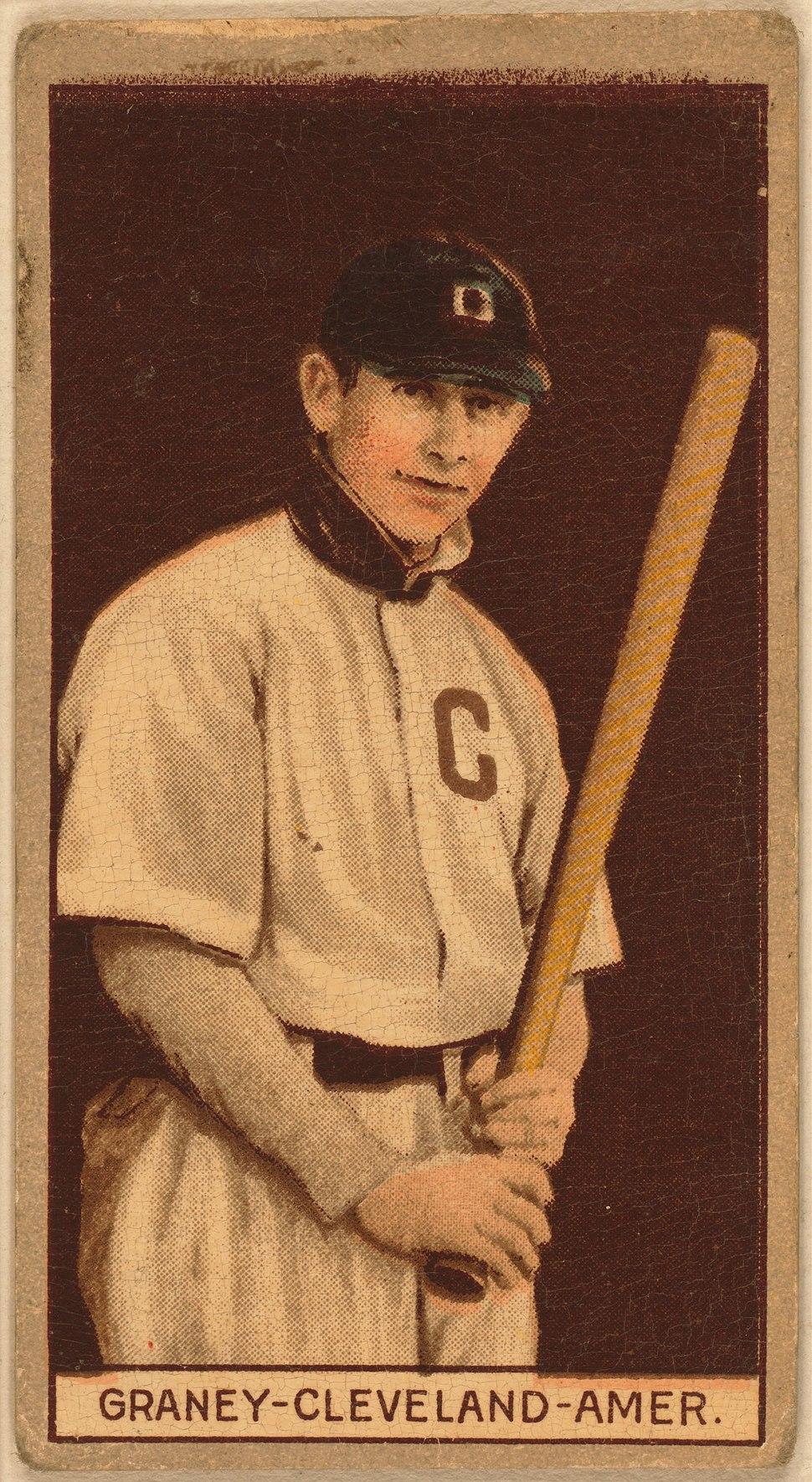Jack Graney baseball card