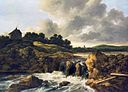 Jacob Isaacksz. van Ruisdael - Landscape with Waterfall - WGA20506.jpg