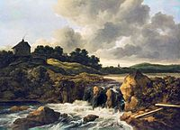 Jacob Isaacksz. van Ruisdael - Landscape with Waterfall - WGA20506.jpg