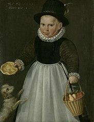 Portrait d'un garçon de deux ans