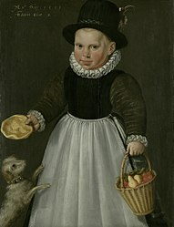 Jacob Willemsz Delff: Portrait of a boy aged two