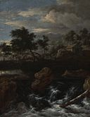 Jacob van Ruisdael - Rocky Landscape with a Waterfall.jpg
