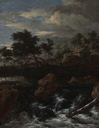 Jacob van Ruisdael - Rocky Landscape with a Waterfall.jpg