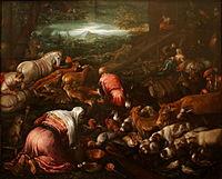 Jacopo Bassano workshop - Animals boarding the Noah's Ark - Louvre.jpg