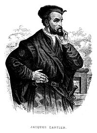 Engraving of Jacques Cartier