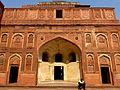 Jahangir Mahal Agra Fort Agra India - panoramio (1).jpg