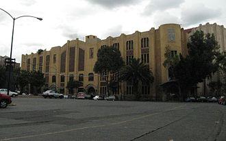 Jai alai - Jai alai arena in Mexico City near the Monument to the Revolution.