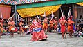 Jakar tshechu, Ging Tsholing Cham (15222902034).jpg
