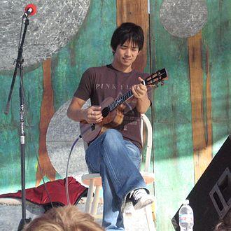 Jake Shimabukuro - Jake Shimabukuro performing in Joshua Tree, California in 2007