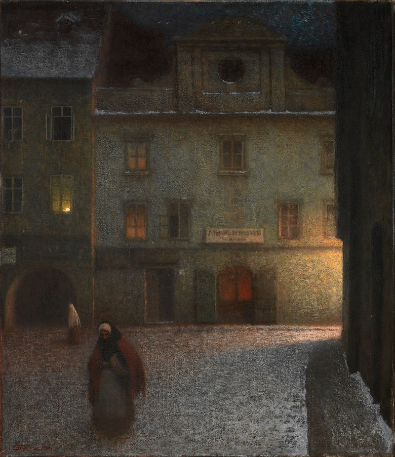 Jakub Schikaneder - Evening Street - Google Art Project.jpg