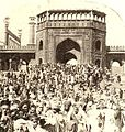 Jama Masjid, Delhi - Aug 1922 Moving Picture Age.jpg