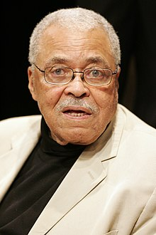 James Earl Jones - the charming, kind,  actor  with Afro-American roots in 2019