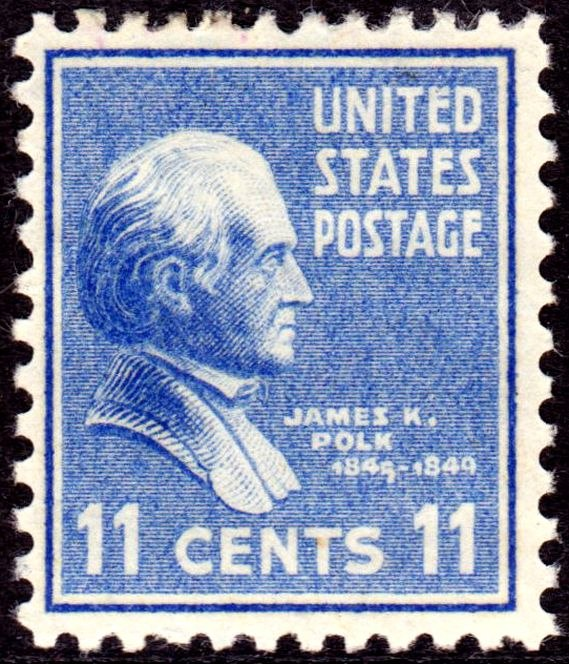 James K Polk 1938 Issue-11c