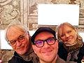 James O'Mara, me, Kate McBride, Florence, Italy.jpg