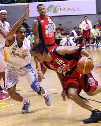 James Yap - Yap defended by Rain or Shine's Gabe Norwood in 2009