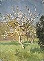 Jan Stanisławski - Apple-Tree in Blossom - MNK II-b-1100 - National Museum Kraków.jpg
