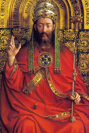 The Ghent Altarpiece: God Almighty ( )