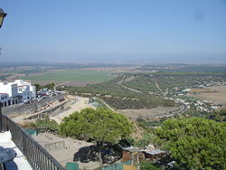 View of La Janda from Vejer de la Frontera