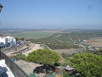 La Janda - View of La Janda from Vejer de la Frontera