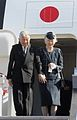 Japanese Emperor Akihito and Empress Michiko arrive at the Manila International Airport 012616.jpg